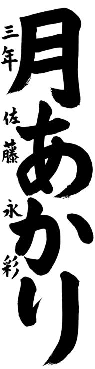 仙台市立枡江小学校 3年 佐藤 永彩