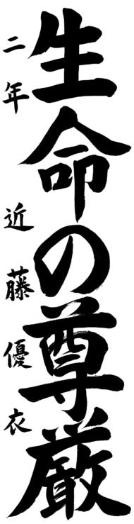 仙台市立北仙台中学校 2年 近藤 優衣